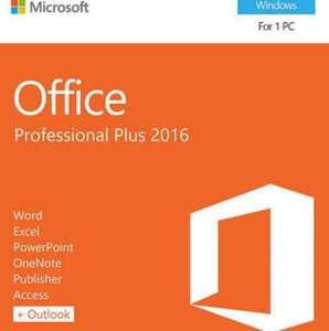 Microsoft Office 2016 for PC and Mac - £9.95 (Employer dependant)