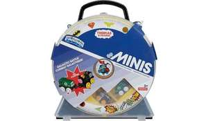 Thomas & Friends DC Super Friends Minis Carry Case with 2 mini engines - £10 @ ASDA George
