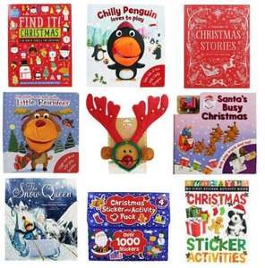 Stocking fillers for the kids Christmas Stockings from 75p @ The Works - Free c&c
