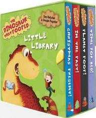 The Dinosaur That Pooped Little Library. £3.99 delivered @ The Book Depository.