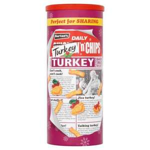 Burtons Turkey 'N' Chips 170g Tubs £1 @ Iceland (Wednesday 14th only) was £2