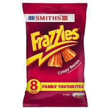 8 Pack of Frazzles for 99p in Home Bargains