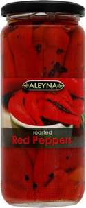 Aleyna Roasted Red Peppers (480g) was £1.40 now 75p @ Morrisons