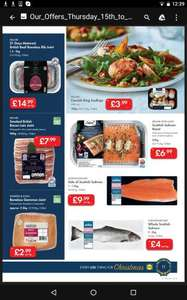 Whole Salmon £4 per kg Lidl