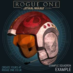 Create your own Star-Wars helmet and add your own photo to it.