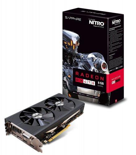 Sapphire AMD Radeon RX470 Nitro+ 8GB - £189.98 @ Amazon