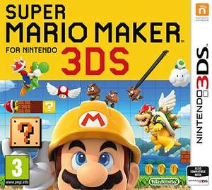 Super Mario Maker 3DS - £30 Asda Small Heath (likely national). [£24 for people with double discount]