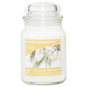 Yankee Candle Home Inspiration Sunlight On Snow Large Tumbler (home inspiration) 3 for 2 £8.60 each or £13 each @ Tesco Direct