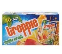 Troppie Multifruit Drinks 10 Pack £1 @ Home Bargains
