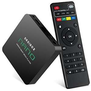 DROIBOX® Nano 4K Android 6.0 TV Box KODI 16.1 Ultra HD Fully Loaded Smart TV Player for £23.96 @ Amazon - Sold by DigiDirect and Fulfilled by Amazon