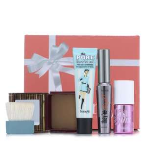 Benefit 4 Piece Beauty Boost Make-up Collection & Gift Box £45.44 Delivered (also on 3 easy pays) @ QVC