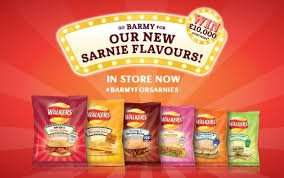 Walkers Sarnie Flavours (14 pack) - 99p @ buyology