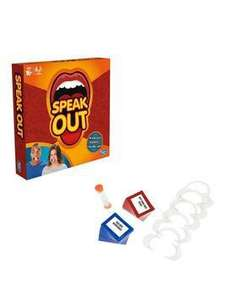 Back in stock Official Speak Out £19.99 free delivery with collect+@very