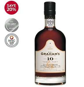 Graham's 10yr Old Tawny Port £16 at Waitrose