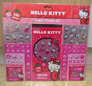 Hello Kitty Super Sticker Set - 500 Stickers