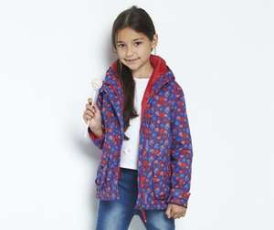 Girls Regatta Waterproof Jacket 3-4 and 5-6 £6.99 free delivery @ halfcost