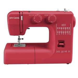 onling oos - no idea about store hence deal expired - John Lewis instore Jl110 sewing machine Red - reduced to clear, was 99.00