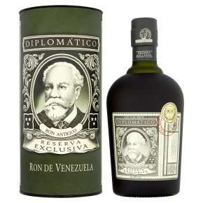Diplomatico Reserva Exclusiva Dark Rum 70cl £35 @ Waitrose