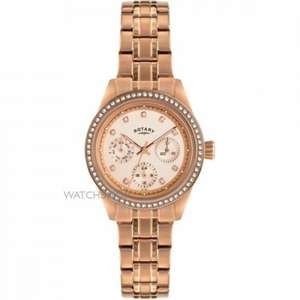 Ladies Rose Gold Rotary Watch £93 @ Watch Shop