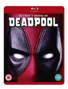 Deadpool at Asda blu-ray for £10