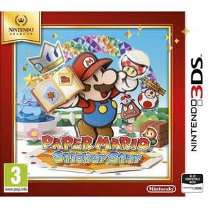Paper Mario Sticker Star (3DS) £9.99 delivered @ The Game Collection