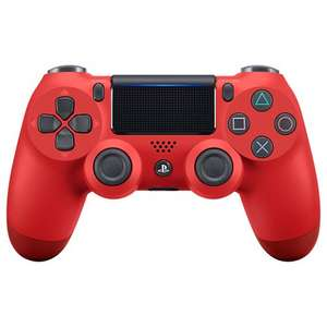 PS4 DualShock 4 Wireless Controller(v2), Magma Red £37.99 John Lewis