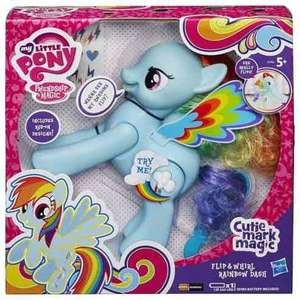 My Little Pony Flip and Whirl Rainbow Dash £6.60 Tesco Direct