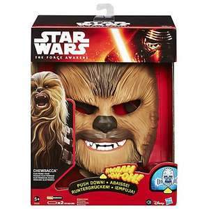 Star Wars Episode VII: The Force Awakens Chewbacca Electronic Mask £29.99 @ John Lewis