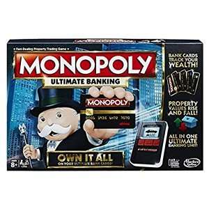 Monopoly Ultimate Banking Game £13.78 Amazon Prime exclusive
