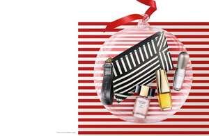 Free Estee Lauder Party Saviours set AND Free Merry Minis set + 2 Free Samples if you spend over £35 over 2 products at Estee Lauder (using code)