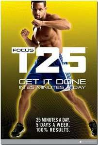 Beachbody Shaun T's FOCUS T25 DVD £66.80 @ Amazon (was £105.95)