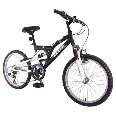 Black boys terrain suspension bike **£70.00 Tesco Direct