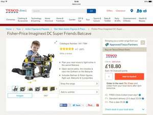 fisher-price-imaginext-dc-super-friends-batcave £18.80 Tesco