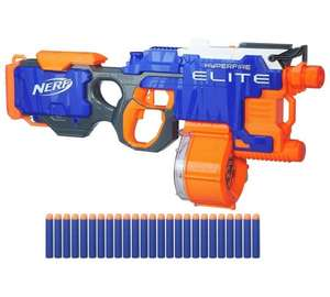 Nerf N-strike hyperfire - was £49.99 then £39.99 now £19.99 plus free darts if you buy 2 @ Argos