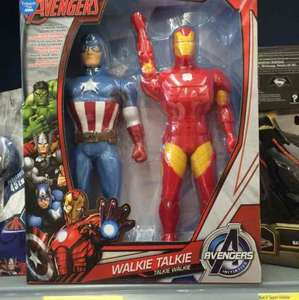 Avenger Walkie Talkies - £5.50 @ ASDA