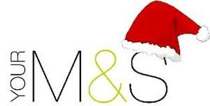 50% Off  Selected Christmas Decorations, Trees, Diaries, Cards, Gift Wrap, Calendars, Christmas Gifts @ M&S