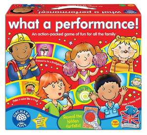 What a Performance! board game from Orchard Toys @ Amazon, down from £15.95 to