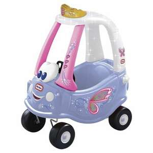 Little tikes fairy coupe car and the taxi £27.72 at Tesco Direct