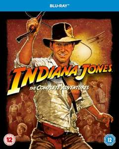 Indiana Jones: The Complete Adventures Blu-ray £10.79 @ Zavvi with code XMAS (+ quidco / top cashback) 3 classic movies and a tea coaster (still £15 on Amazon)