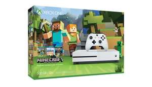 Xbox One S Console with Minecraft pack - £229.99 Microsoft (£199.99 with Quidco)