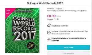 Guinness World Records 2017 £8.99 @ bookdepository.com free del
