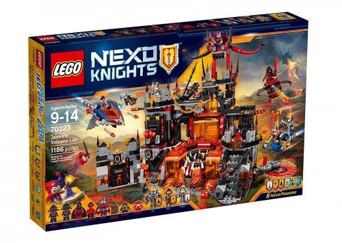 LEGO Nexo Knights Jestro's Volcano Lair 70323 £47.52 Tesco