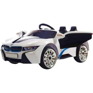 BMW i8 Style Child's 12v Ride On Car With Remote - £79.95 Outdoortoys.co.uk -