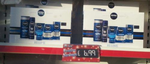 Nivea Men Regime 5 piece gift set £6.99 @ Savers