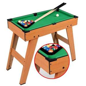 Children's Pool or Billiard Table. £19 delivered with 50 % discount code: snowball  (RRP £37.99). weeklydeals4less.com