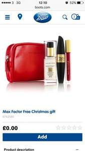 dree max factor goodies with £15 spend
