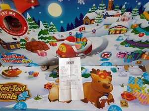 toot toot advent calenders £11.55 Tesco instore
