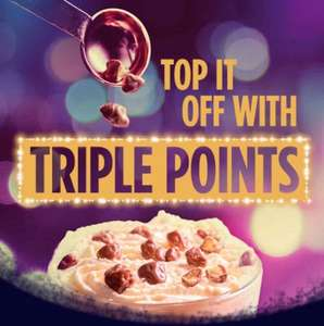 Triple points on first order of the Christmas treats range @ Costa coffee (14 - 21 Dec)