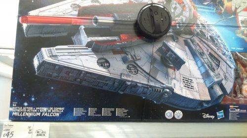 Star wars millennium falcon £45 Asda instore/online