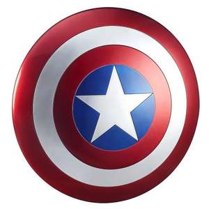 The Avengers Marvel Legends Captain America Shield price drop £65.34 on Amazon